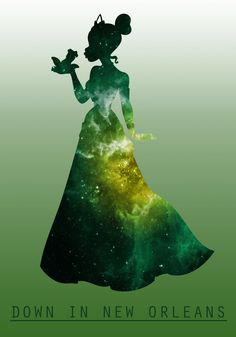 Space Princesses: Tiana Art Print by ThatQueerAngel