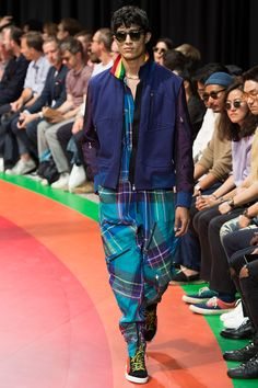 Paul Smith unveiled his Spring/Summer 2017 collection during Paris Fashion Week.