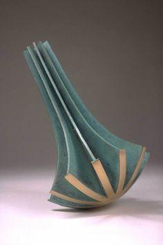 Scepter 1993, Bronze, 11 x 6 x 9  inches, Fritz Dietel Sculpture