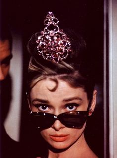 Audrey Hepburn on the set of 'Breakfast at Tiffany's' photographed by Howell Conant, 1961