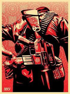 Duality of Humanity 3 / Shepard Fairey via obeygiant.com
