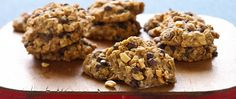 Inspired by the popular monster cookies, these vegan treats are packed with…