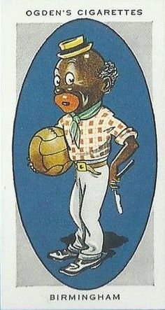 "1933 Ogden's issued a set of 50 cigarette cards called, ""A.F.C.NICKNAMES""."