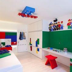 Kids Room Design For Two Kids 33 Wonderful Boys Room Design Ideas 21 Bedroom Themes, Kids Bedroom, Bedroom Decor, Kids Rooms, Bedroom Ideas, Lego Theme Bedroom, Boy Bedrooms, Shared Bedrooms, Bedroom Ceiling