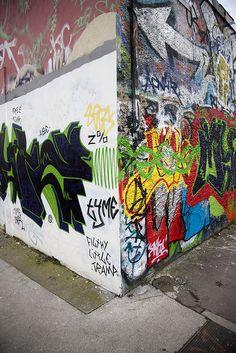 New Today - Street Art In Dublin Docklands by infomatique, via Flickr