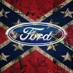 Rebel Ford thanks for 200 subs Ford Girl, Lifted Trucks, Old Trucks, Mudding Trucks, Pickup Trucks, Ford Mustang, Ford 2000, Ford Emblem, Confederate Flag