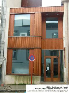 Edificios de Papel - Edificio en Ourense, Urbanismo