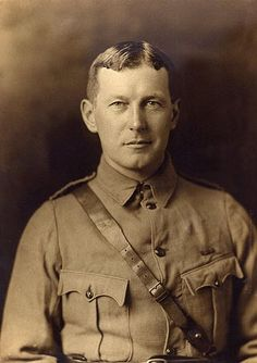 "WWI John McCrae, author of the poem ""In Flanders Fields"" #military #veterans"