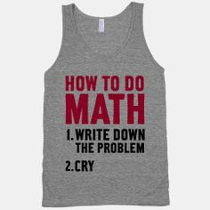 My Life right now  How To Do Math | HUMAN