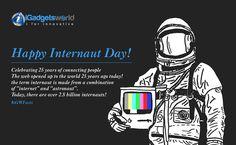 #HappyInternautDay Celebrating 25 years of Connecting People Worldwide!