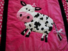 How To Hand Quilt: Holstein Cow Quilt?