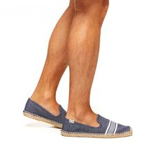 75a2b2f8349 Mens Stripe Smoking Slipper Smoking Slippers, Navy And White, Espadrilles,  Espadrilles Outfit
