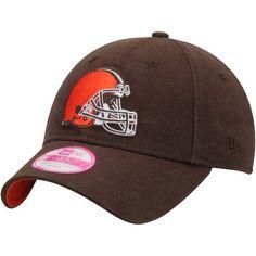 1370e2ab Cleveland Browns New Era Women's Preferred Pick 9TWENTY Adjustable Hat -  Brown #ClevelandBrowns Cleveland Browns