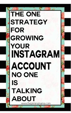 Instagram Tips | How to grow your following on Instagram the non-sleezy way.