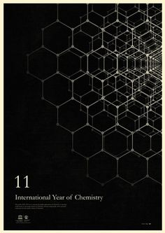 2011 marks the 100th anniversary of the founding of the International Association of Chemical Societies as well as the 100th anniversary of the Nobel Prize award to Madame Marie Curie. Graphic designer and illustrator Simon C. Page produced a series of beautiful posters inspired by chemists and their contributions to humankind—Einstein's atomic theory of matter, John Dalton's law of conservation of mass, Hanns-Peter Boehm's discover of graphene and more.