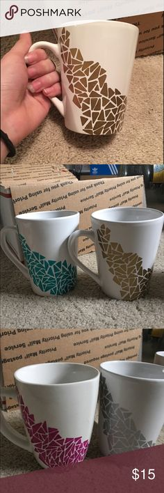 Elegant Mug Design Perfect for gifts to friends, family, or even yourself! Hand wash only!! Is not microwave nor dishwasher safe! Any questions please leave a comment below!! If you would like to customize it in anyway please let me know and we can pick what you like best!! Thank you so much ☺️ Accessories