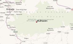 Mulhacen Location Map