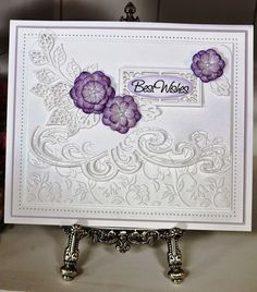 Cheap Cutting Dies, Buy Directly from China Suppliers:Wave Lace Border Dies Metal Cutting Dies Scrapbooking Craft Die Cut Border For Cards new 2018 Sue Wilson, Hand Made Greeting Cards, Making Greeting Cards, Diy Cards Making, Wedding Cards Handmade, Handmade Cards, Spellbinders Cards, Ppr, Cricut Cards