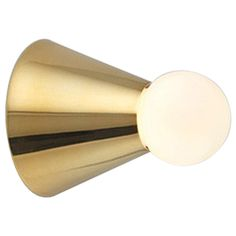 Michael Anastassiades Cone Light Wall or Ceiling Fixture | From a unique collection of antique and modern wall lights and sconces at https://www.1stdibs.com/furniture/lighting/sconces-wall-lights/