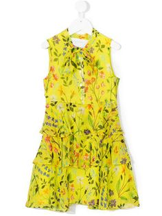 Spring field pleated dress Girls Designer Clothes 7036aa132
