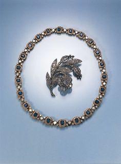 A Magnificent 19thC Brooch Set with Diamonds En-tremblant.   Webb's – New Zealand's Premier Auction House: Fine, Tribal & Decorative Arts, J...