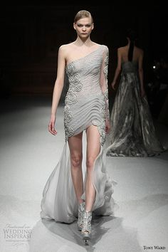 Tony Ward Spring 2015 Couture Collection | Wedding Inspirasi. This model is so thin she cannot show this dress off the way it should be shown.