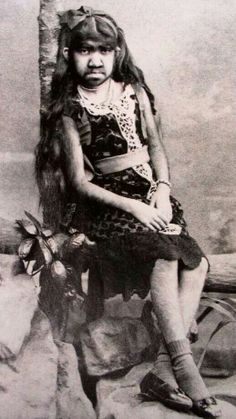 DORA GUTTERMAN. Aka, Madame Krao the Bearded Lady or the Monkey Girl.  (My mother, ARTORIA GIBBONS, one of the most famous Tattooed Ladies of all time worked with her.  They were good friends.)
