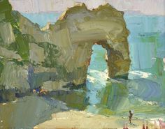 (48) Durdle Door - Oliver Akers Douglas, 16th Nov - 2nd Dec, Portland Gallery