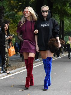 76382bb40c99 How to Wear Over-the-Knee Boots  A Street-Style Guide