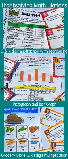 Teach your students math standards this November with this engaging ...