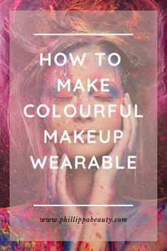 Makeup Tips For Dry Skin, All Natural Makeup, How To Apply Makeup, Bright Makeup, Bright Lipstick, Colorful Eye Makeup, Beauty Hacks Skincare, Diy Beauty, Beauty Products