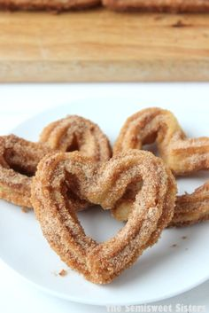 Homemade Heart Shaped Churros for Valentine's Day!