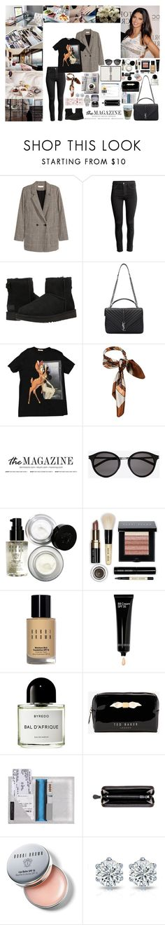 """""""Unbenannt #669"""" by isa1 ❤ liked on Polyvore featuring Made of Me, Jakke, Prada, H&M, UGG Australia, Yves Saint Laurent, Givenchy, Bobbi Brown Cosmetics, Byredo and Louis Vuitton"""