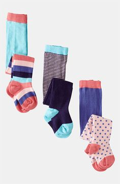 LOVE!!! Just ordered them. Mini Boden Tights (3-Pack) (Infant & Toddler) | Nordstrom