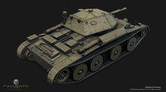 ArtStation - Covenanter (World of Tanks XBOX ONE Edition), Valentin Gritsenko