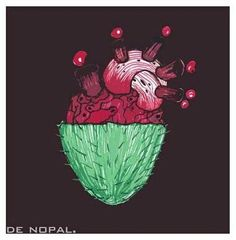 Nopal heart
