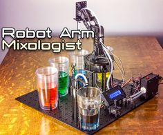 Arduino Robot Arm Mixologist