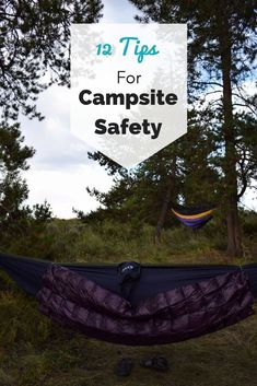 I know backpacking isn't the most high risk activity out there, but accidents can still happen to anyone. Here are some campsite safety tips for your next backpacking trip Camping With Kids, Go Camping, Camping Hacks, Outdoor Camping, Camping Hammock, Winter Camping, Outdoor Gear, Camping Supplies, Family Camping