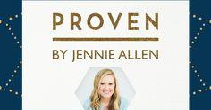 Win a #ProvenBibleStudy Leader Kit from Jennie Allen and #LifeWayWomen!