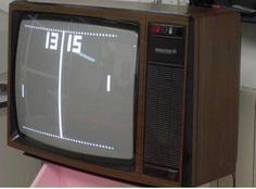 the first video game we owned! I remember dad opening it and how we would play that thing all the time! My Childhood Memories, Childhood Toys, Great Memories, Retro Vintage, Vintage Toys, Nostalgia, Alter Computer, First Video Game, 80s Kids