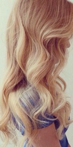 Wavy balayage hair #gorgeoushair