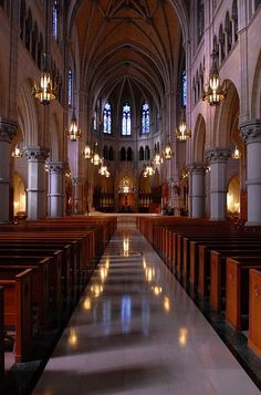 Catholic Cathedral Basilica of the Sacred Heart Newark, New Jersey