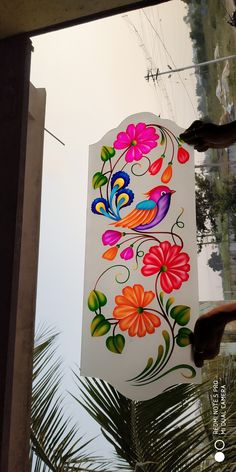 Glass Etching Designs, Glass Painting Designs, Paint Designs, Window Glass Design, Glass Partition Designs, Building Elevation, House Elevation, Pooja Room Door Design, Wall Design