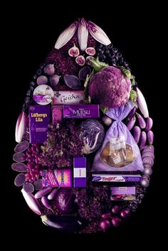 for the purple lover The Purple, Purple Food, All Things Purple, Purple Haze, Shades Of Purple, Purple Stuff, Magenta, Pink Blue, Geisha