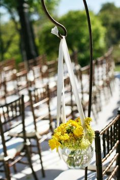 #chiavari  Photography:   Read More: http://www.stylemepretty.com/2009/07/06/upscale-backyard-wedding-by-caplan-miller-events-2/
