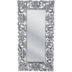 New Ideas For Home Decoratie Zilver Kare Design, Framed Mirror Design, Baroque Mirror, Picture Frame Decor, Italian Baroque, Unique Mirrors, Wood Carving Designs, Diy Wallpaper, Floor Mirror