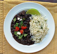 Mexican Restaurant Style Black Beans