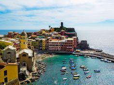 The Cinque Terre, Vernazza, Italy. I feel like I will have to go to Italy every year for the next 10 to see everything I'd like to see there. Beautiful Places To Visit, Oh The Places You'll Go, Great Places, Places To Travel, Wonderful Places, Travel Destinations, Dream Vacations, Vacation Spots, Cinque Terre Italia