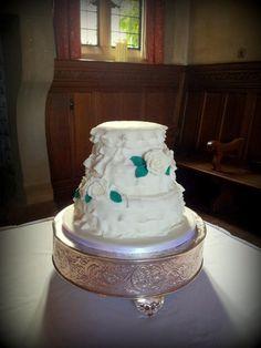 6 Lemon 8chocolate 10 Vanilla Sponge Wedding Cake Decorated
