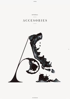 "Horse is a luxury magazine about art, fashion and travels. Various section covers for the magazine by Eren Saracevic. They misspelled ""accessories"". I haven't the heart to tell them."